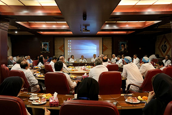 برگزاری جلسه کمیته مورتالیتی مورخ 15 آذرماه در مرکز قلب و عروق شهید رجایی