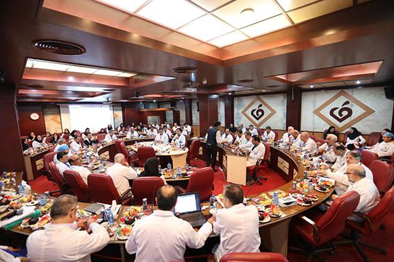 برگزاری جلسه کمیته مورتالیتی مورخ 24 مهرماه در مرکز قلب و عروق شهید رجایی