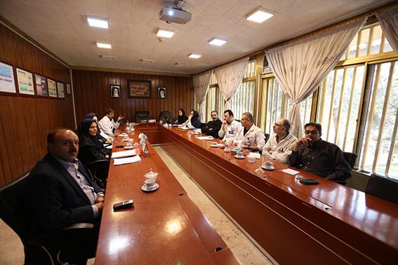 برگزاری آخرین جلسه کمیته بحران مرکز قلب و عروق شهید رجایی در سال 1396
